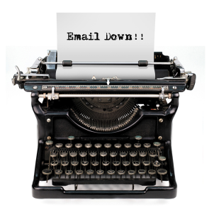 Pic - Email Down